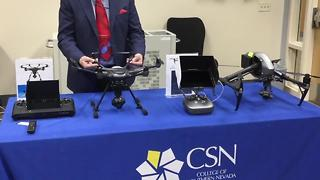 College of Southern Nevada developing new program on drones - Video