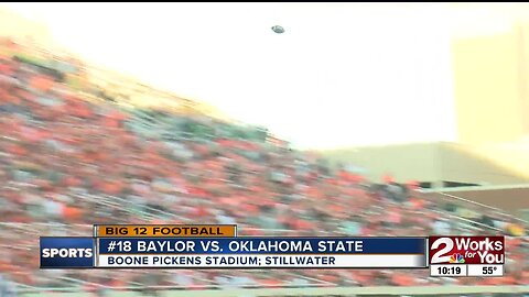 Oklahoma State falls to #18 Baylor, 45-27 after 4th quarter collapse