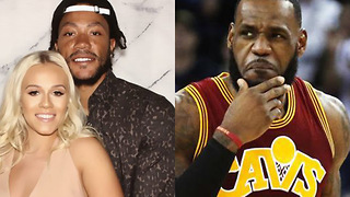 Derrick Rose GHOSTED the Cavs to Get SECRETLY MARRIED to Alaina Anderson - Video