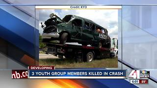 3 killed, 10 hurt in JoCo church van crash - Video