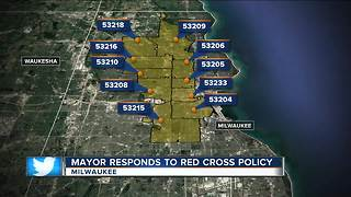 Mayor Barrett responds to Red Cross' new ZIP Code policy - Video