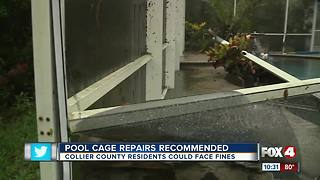 Pool Cage Repairs Recommended - Video