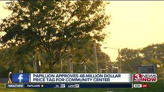 Papillion city council approves new community center - Video