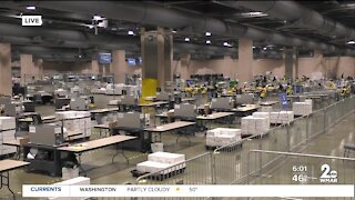 Margin closes as mail-in ballots are counted in Pennsylvania