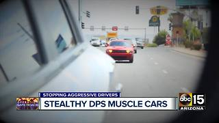 DPS using 'muscle cars' to catch unsuspecting aggressive drivers - Video