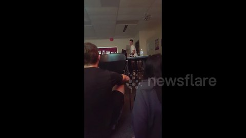 Student captures 'code red' lockdown inside Indiana high school after shooting at nearby middle school