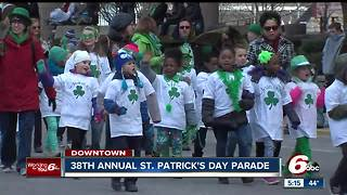 38th Annual St. Patrick's Day Parade in Indianapolis - Video