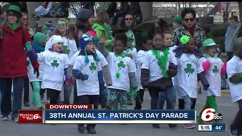 38th Annual St. Patrick's Day Parade in Indianapolis