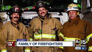 Valley family carries 51 years working as firefighters - Video