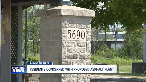 Asphalt mixing plant getting harsh pushback from Village of Hamburg residents