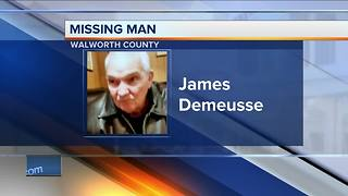 Walworth County family searching for 70-year-old father who suffers from dementia - Video