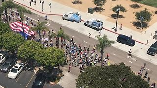 Marchers Take to Streets at San Diego Trump Impeachment Rally - Video