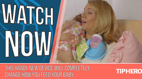 This Handy New Device Will Completely Change How You Feed Your Baby