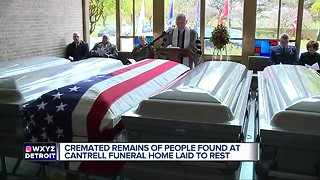 Memorial service held for the 300 people whose cremated remains found at funeral home