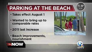 Parking going up at Lake Worth Beach - Video