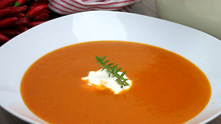 Roasted tomato soup recipe - Video