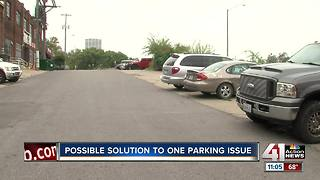Valet proposal could provide parking relief in Crossroads - Video