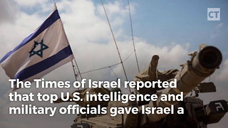 Us Gives Israel The Green Light For Iranian Assassination - Video