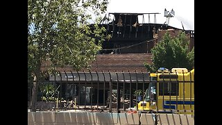 Devastated business owners look to recover after massive office complex fire