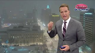 Most snow ending by 7:00 a.m. - Video