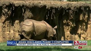 Asian Highlands at Omaha zoo opens Thursday - Video