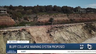 Local Assemblymember proposes warning system for bluff collapses