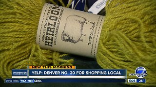 Yelp: Denver is No. 20 for shopping local - Video