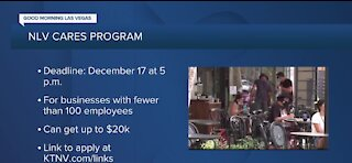 One more week to apply for the NLV Cares Program