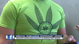 Medical marijuana dispensary opens in North Fort Myers - Video