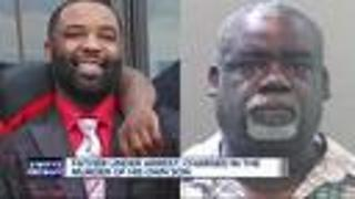 Dad charged in murder of his son - Video