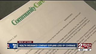 Thousands of older Oklahoma's worry about health insurance being canceled - Video