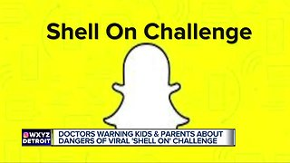 Doctors warning about dangers of shell on challenge