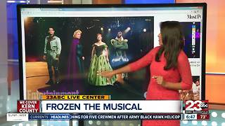 First look at Frozen The Musical - Video