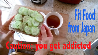 01 Breakfast Cucumber Toast from Healthy Japanese Kitchen - Video