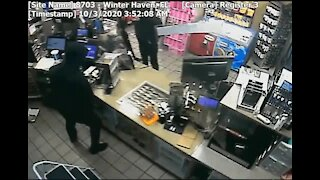 Police searching for 4 armed robbery suspects - Surveillance video