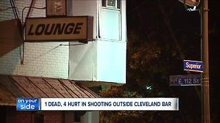 Fight and shooting at Frecks bar on Cleveland's east side ends with 1 dead, 4 others injured - Video