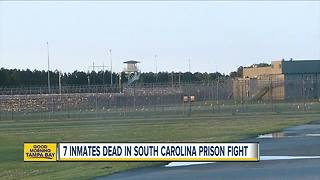7 inmates dead, 17 injured in fights at maximum security prison in South Carolina