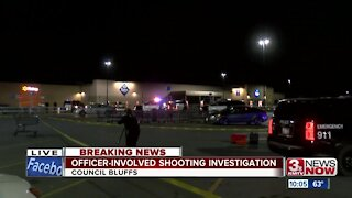 Officer-involved shooting in Council Bluffs Walmart parking lot