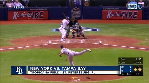 Tampa Bay Rays eliminated from playoffs after losing 4-1 to New York Yankees