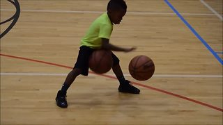 Incredibly Talented 4-Year-Old Shows Off Awesome Basketball Skills  - Video