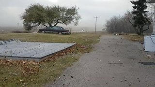 Windstorm Whips Through Southeast Alberta - Video