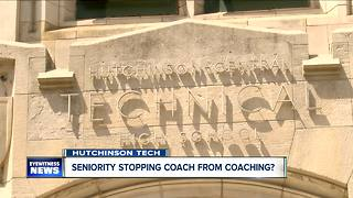 Seniority policy stopping a Buffalo high school coach from coaching