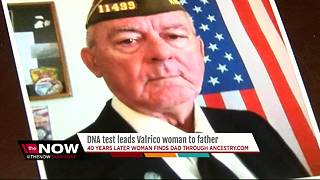 DNA test helps Valrico woman locate father after four decades - Video