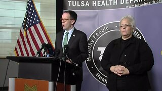 Officials with Tulsa Health, Tulsa County, City of Tulsa Held News Conference Today
