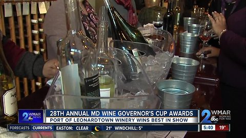28th Annual Maryland Wine Governors Cup Awards