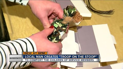 Homefront - Troop on the Stoop book comforts children of service members