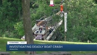 Amherst man dead after boating accident, two others injured