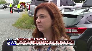 Harford County Sheriffs' official speaks with WMAR 2 News about Aberdeen shooting