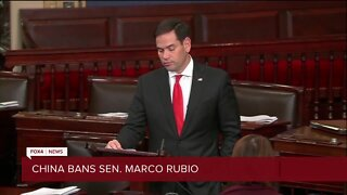 China threatens to ban Senator Marco Rubio