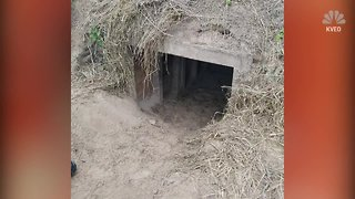 Texas border tunnel discovered